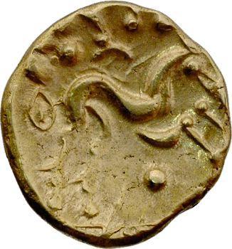Ambiens, statère d'or uniface, c.60-25 av. J.-C.