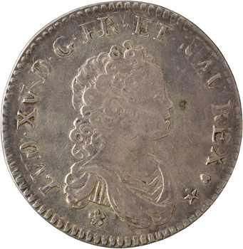 Louis XV, 40 sols de Strasbourg, 1716 Strasbourg