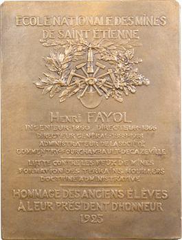 Saint-Étienne (Mines de), Henri Fayol, 1925 Paris