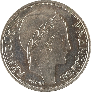 Algérie, essai de 50 francs, 1949 Paris PROOF
