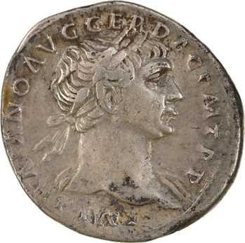 Trajan, denier, Rome, 107-108