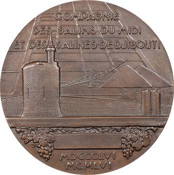Djibouti, centenaire de la Compagnie des Salins du Midi et des Salines de Djibouti, par Delamarre, 1956 Paris