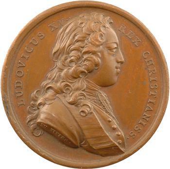 Louis XV, la conquête du Milanais, 1733 Paris