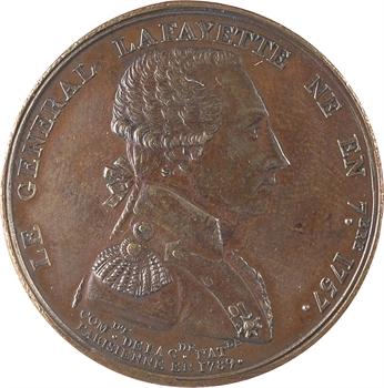 Constitution, le général de La Fayette, 1789 Paris