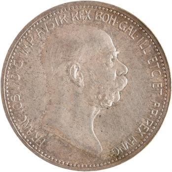Autriche, François-Joseph Ier, corona, 1908 Vienne