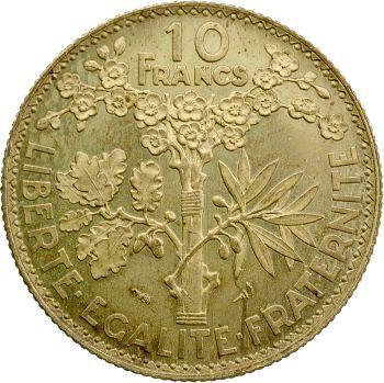 IIIe République, essai de 10 francs Bazor, 1929 Paris