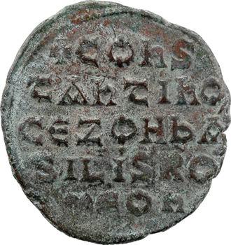 Constantin VII et Zoé, follis type 1, Constantinople, s.d. (janvier à avril 945)