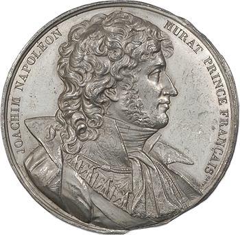 Italie, hommage à Joachim Murat, cliché uniface, s.d. (1815) Paris