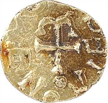 Neustrie, Senlis, trémissis du monétaire Bettone, c.620-640 Senlis