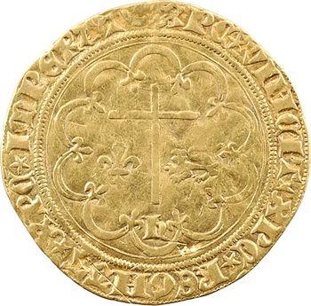 Henri VI, salut d'or 2e émission, Châlons-en-Champagne