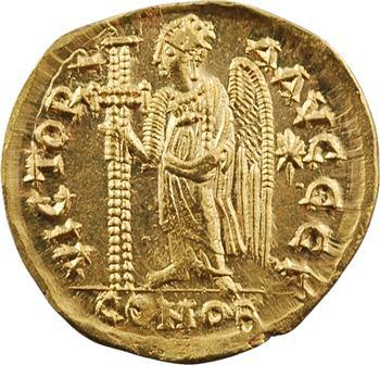 Anastase, solidus, Constantinople, 3e officine, 491-498