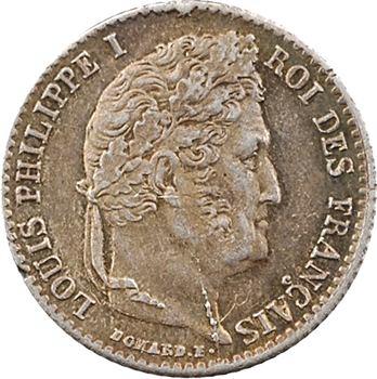 Louis-Philippe Ier, 1/4 franc, 1833 Paris