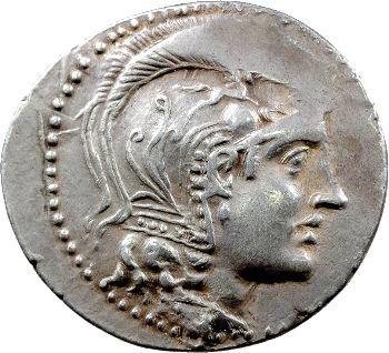 Attique, tétradrachme stéphanophore, Athènes, c.220-197 av. J.-C.