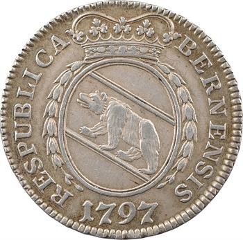 Suisse, Berne (canton de), quart de thaler, 1797 Berne