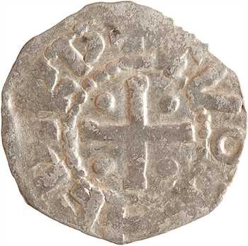 Vermandois (comté de), Héribert III et Lothaire, denier, s.d. (987-1002)