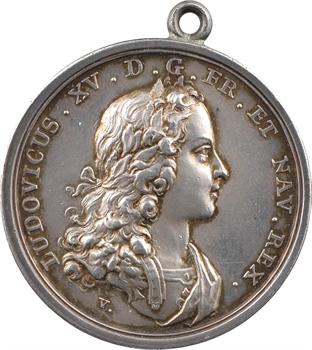 Louis XV, sacre à Reims le 25 octobre 1722, par Andreas Vestner, 1722 Nuremberg