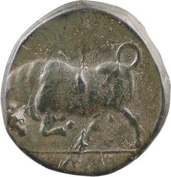 Sicile, Syracuse, Agathoklès, bronze AE15, c.317-289 av. J.-C.