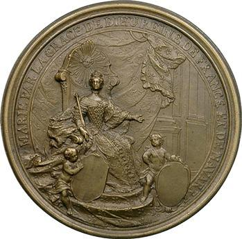 Louis XVI, grand sceau de Marie-Antoinette, s.d., fonte moderne