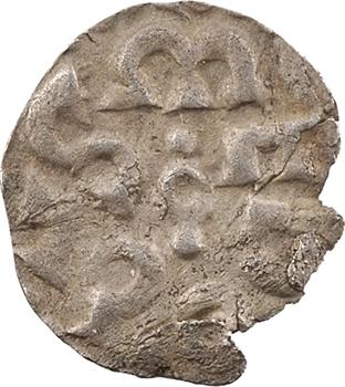 Charlemagne, obole bractéate, Melle