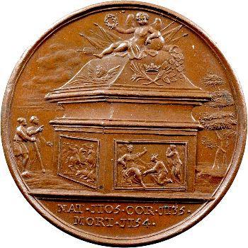 Angleterre, série des Rois par Jean Dassier, Étienne, s.d. (c.1731-1732)