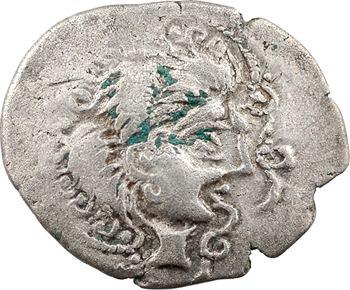 Vénètes, statère de billon, classe III au nez droit et sanglier, c.80-50 av. J.-C.