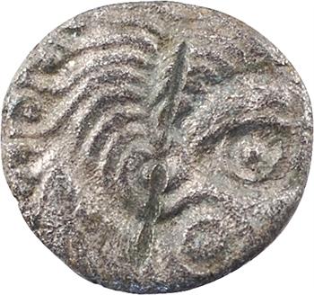 Coriosolites, quart de statère, classe III, c.80-50 av. J.-C