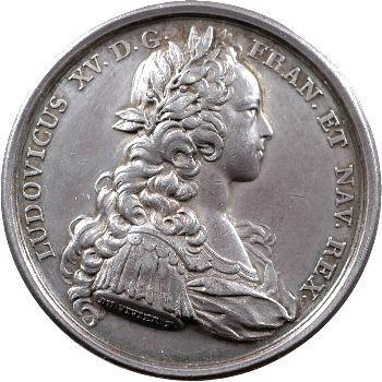 Louis XV, la Majorité du Roi, 1723 Paris