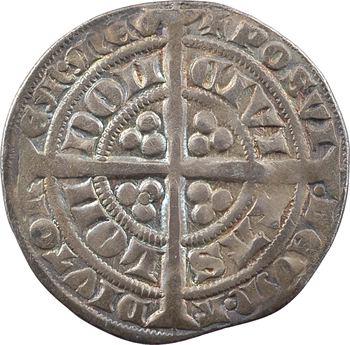 Angleterre, Édouard III, gros (groat), Londres