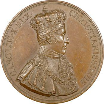 Charles X, médaille du sacre à Reims (Sb.87b), 1825 Paris