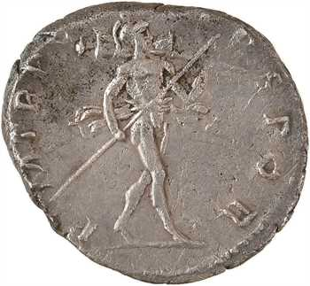 Trajan, denier, Rome, 114-117