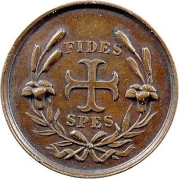 Henri V, médaillette FIDES SPES