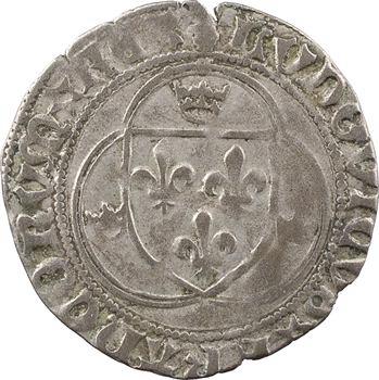 Louis XII, grand blanc à la couronne (BENEDICTVM*), cantonnement inversé, Châlons-en-Champagne