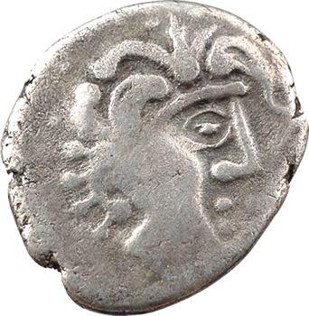 Pétrocores, drachme au sanglier monstrueux, 3e type, c.80-60 av. J.-C