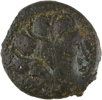 Pictons, bronze SACTIOS au temple, classe III, c.50 av. J.-C