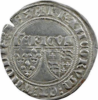 Henri VI, blanc aux écus, Auxerre