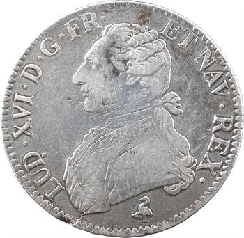 Louis XVI, écu aux branches d'olivier, 1780/79, 2d semestre, Paris