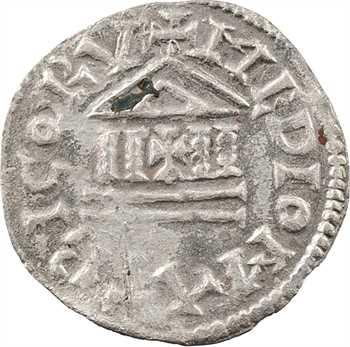 Lothaire Ier, denier, s.d. (840-855) Metz