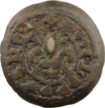 Limoux, poids de ville, 1/8 de livre, s.d. (sous Philippe IV)