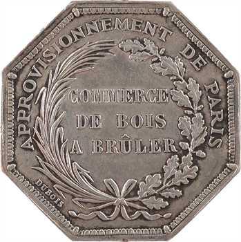 Second Empire, commerce de bois à brûler (Jean Rouvet), s.d. Paris