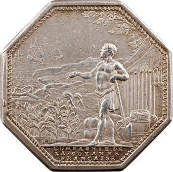 Guyane, jeton de la Compagnie de la Guyane, Agriculture et Commerce, s.d. (1774-1830)