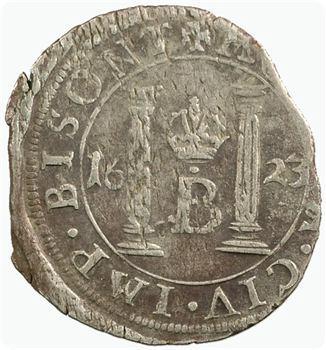 France-Comté, Besançon (ville de), gros, 1623 Besançon