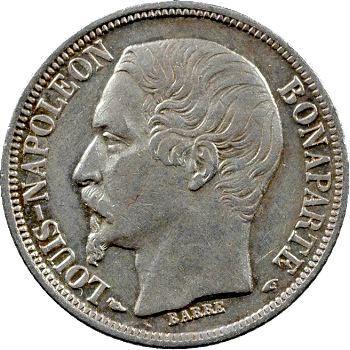IIe République, 1 franc LNB, 1852 Paris
