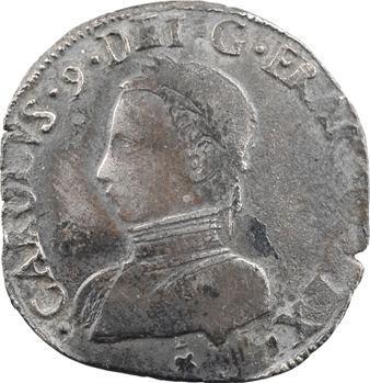 Charles IX, teston du Dauphiné, 1564 Grenoble
