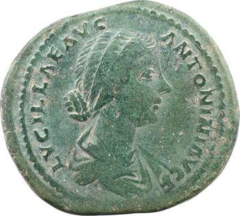 Lucille, sesterce, Rome, 164-182