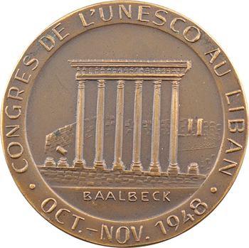 Liban, congrès de l'UNESCO, 1948