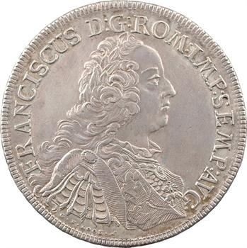 Allemagne, Ratisbonne (ville de), François Ier, thaler, 1756