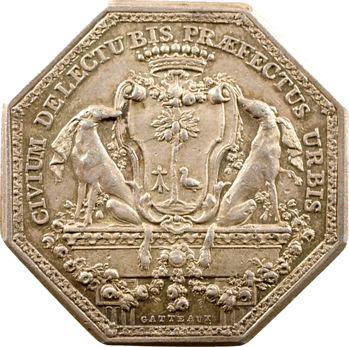 Bretagne, Rennes (mairie de), Yves de La Motte Fablet, maire, s.d