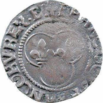 François Ier, denier tournois 1er type, Bourges