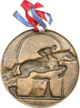 Bouchard (Henri) : concours d'équitation, fonte de bronze, 1946 Paris