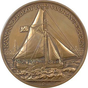 Pays-Bas, centenaire du décès de Joseph van Speyk, par J.J. van Goor, 1831-1931